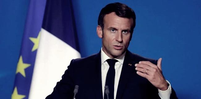 Emmanuel Macron Vs Teroris Islam