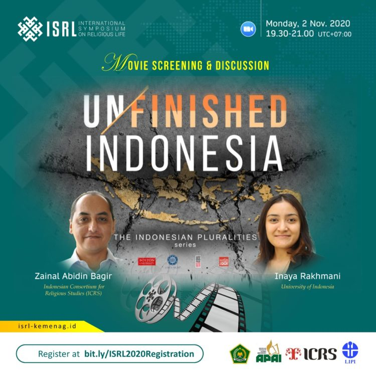 Launching Film Unfinished Indonesia: Merajut Kesatuan dalam Kebhinnekaan
