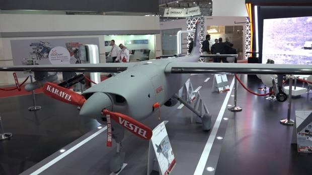 Perusahaan Arab Saudi Mulai Produksi Drone Tempur Buatan Turki