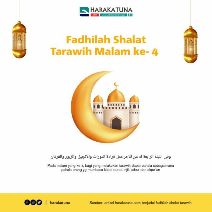 fadhilah sholat tarawih