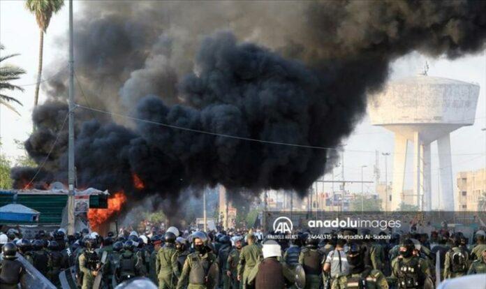 Serangan Drone Targetkan Pangkalan Militer di Baghdad